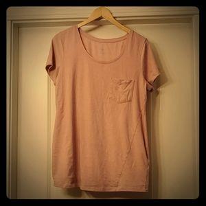 Thyme Maternity - Dusty Rose Short Shirt XL